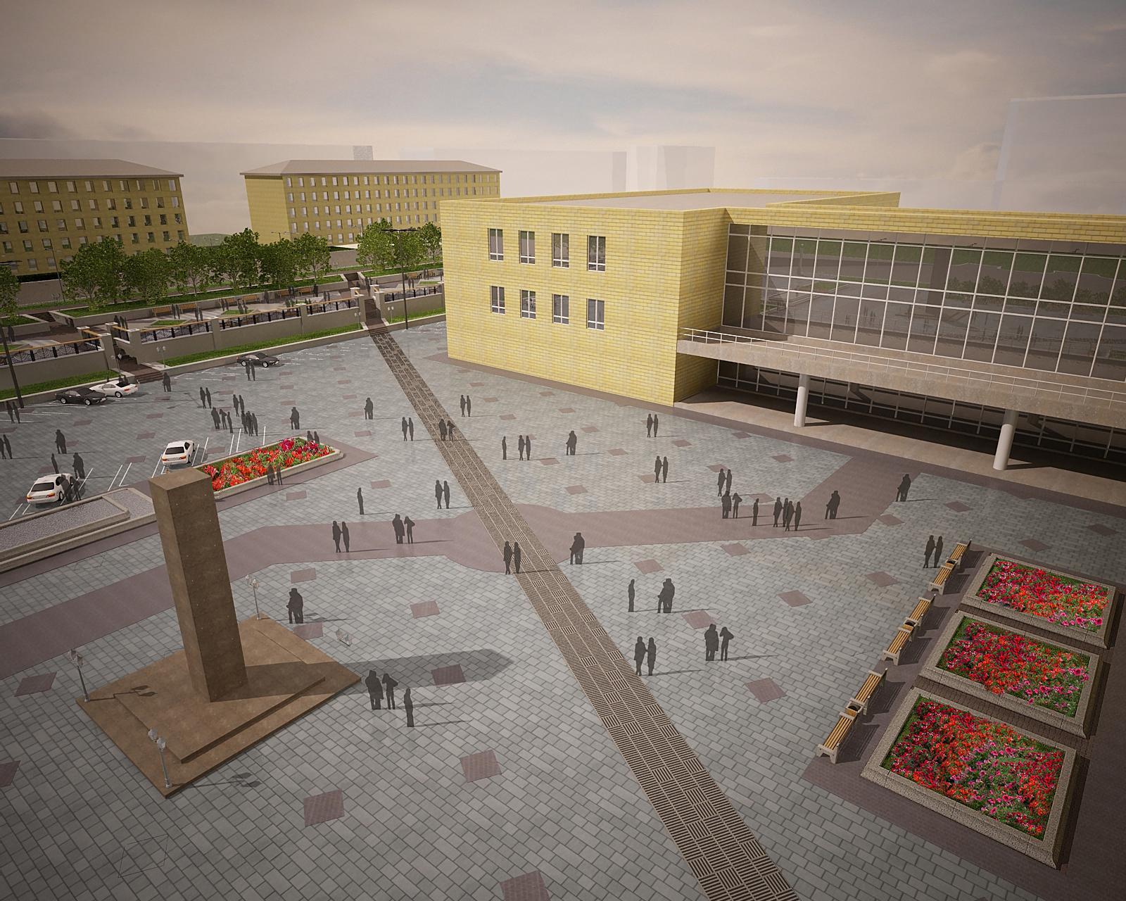 Городской дворец культуры в Красноярске