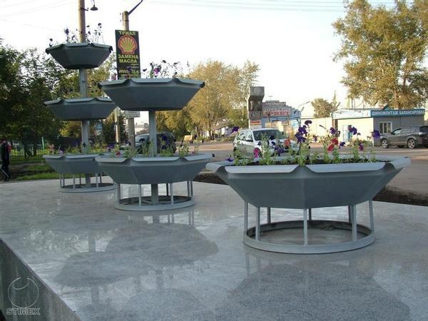 Сквер Солнечный в Красноярске