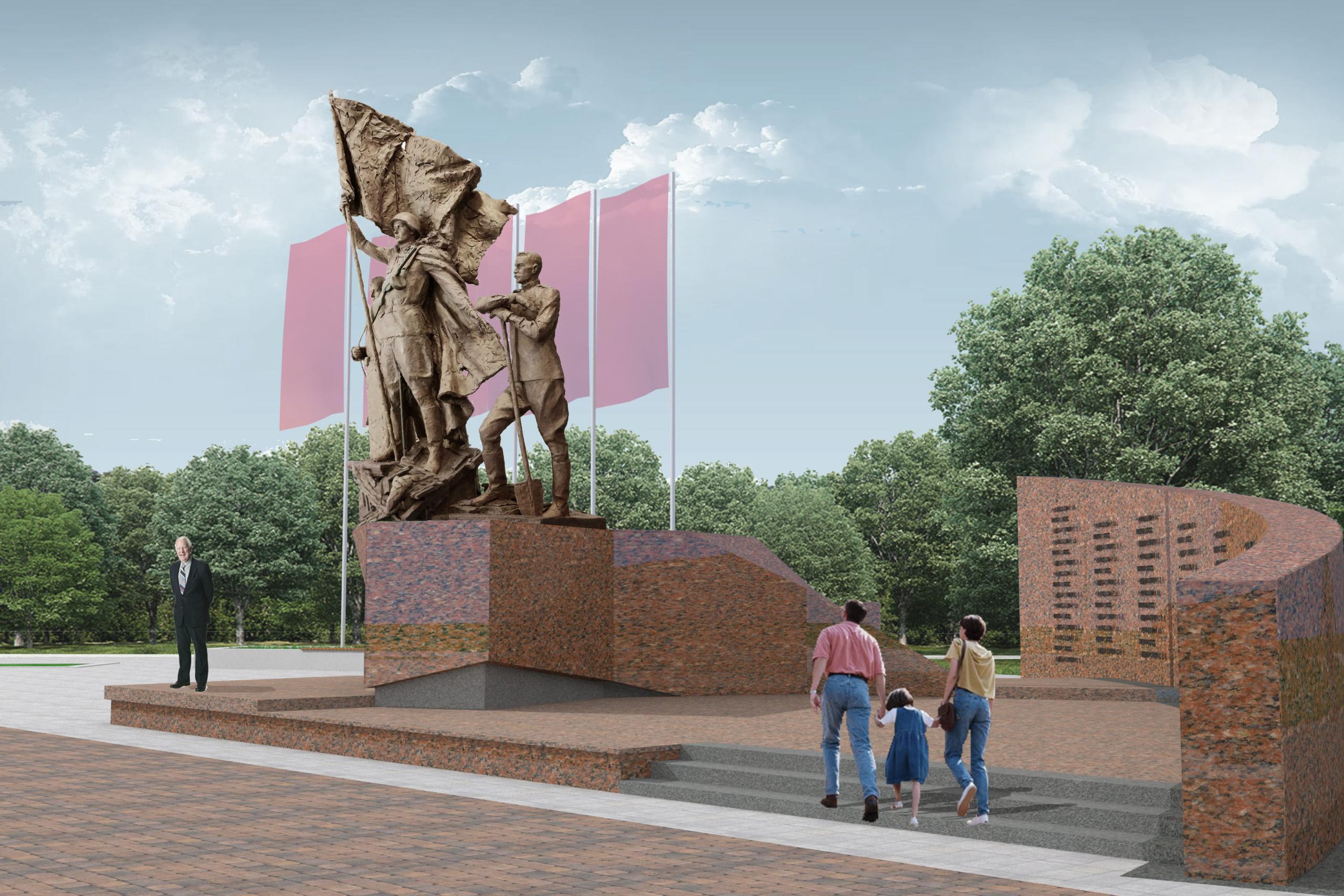 Сквер 75-летия победы в ВОВ