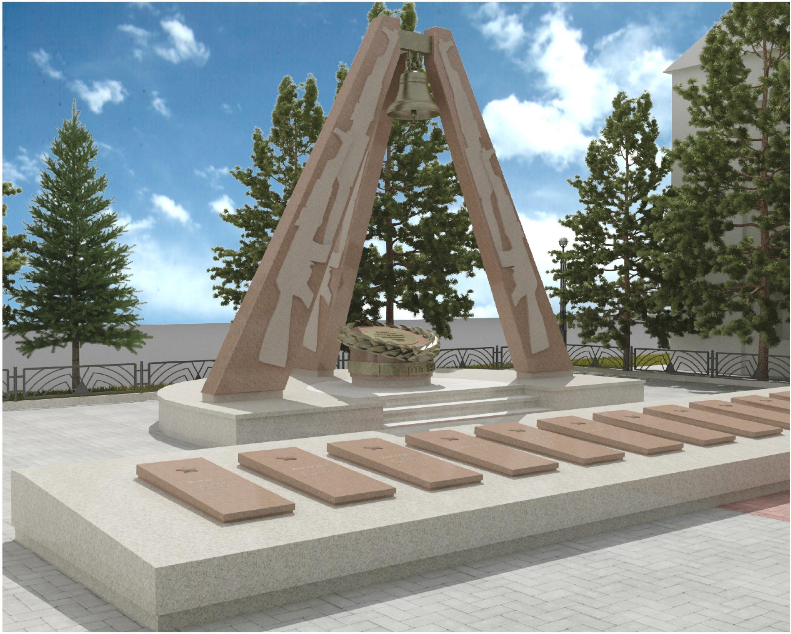 проект реставрации мемориального комплекса в селе Камень-Рыболов Приморского края, где захоронены защитники острова Даманский