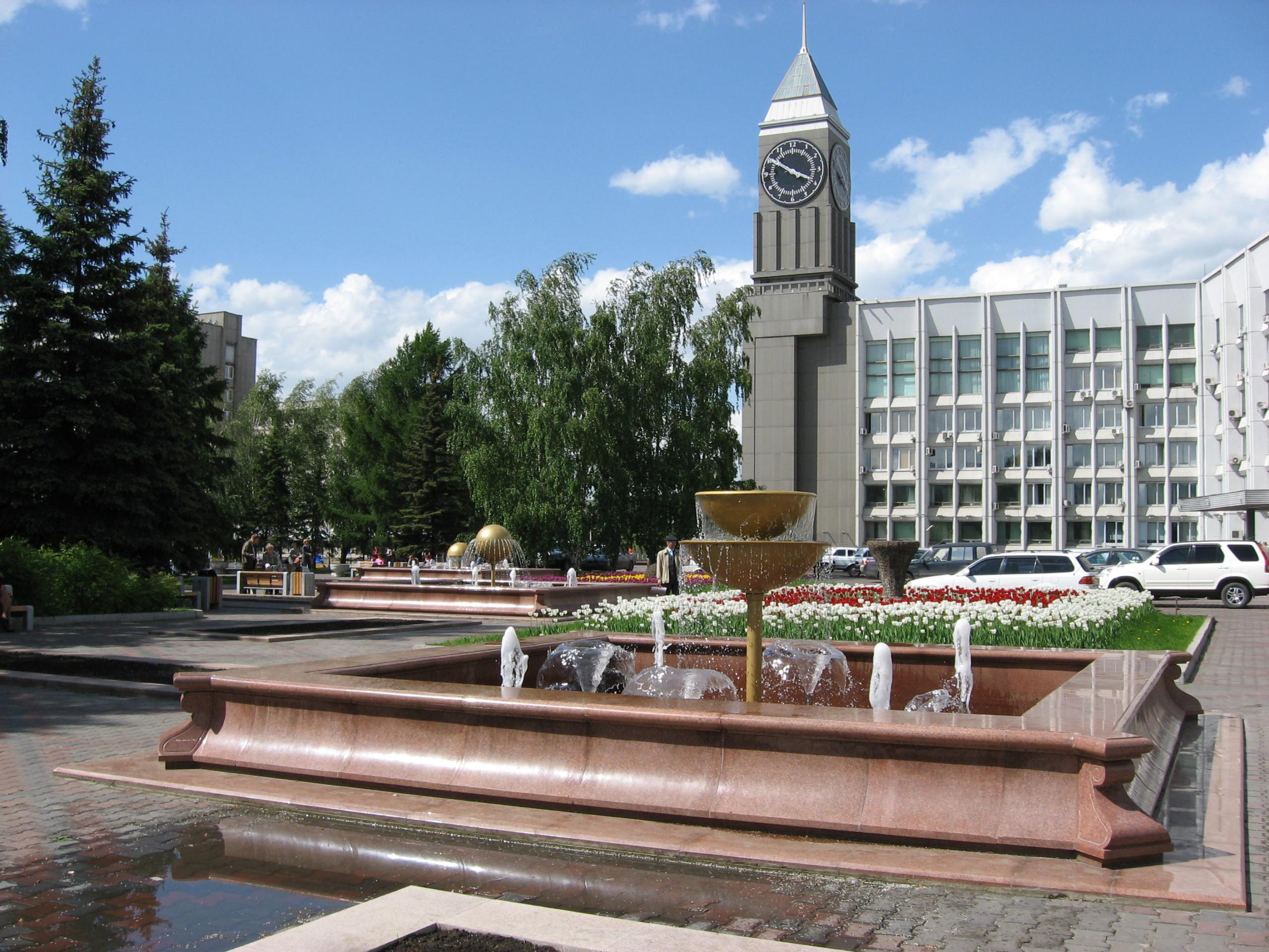 фонтан у мэрии