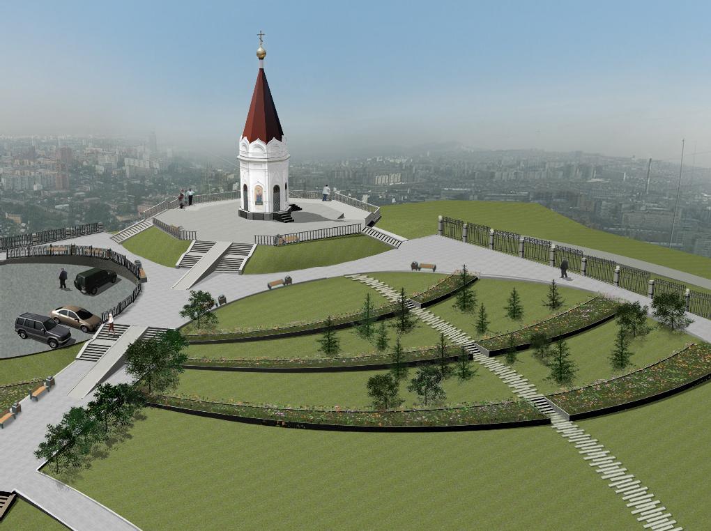 парк на Покровской горе