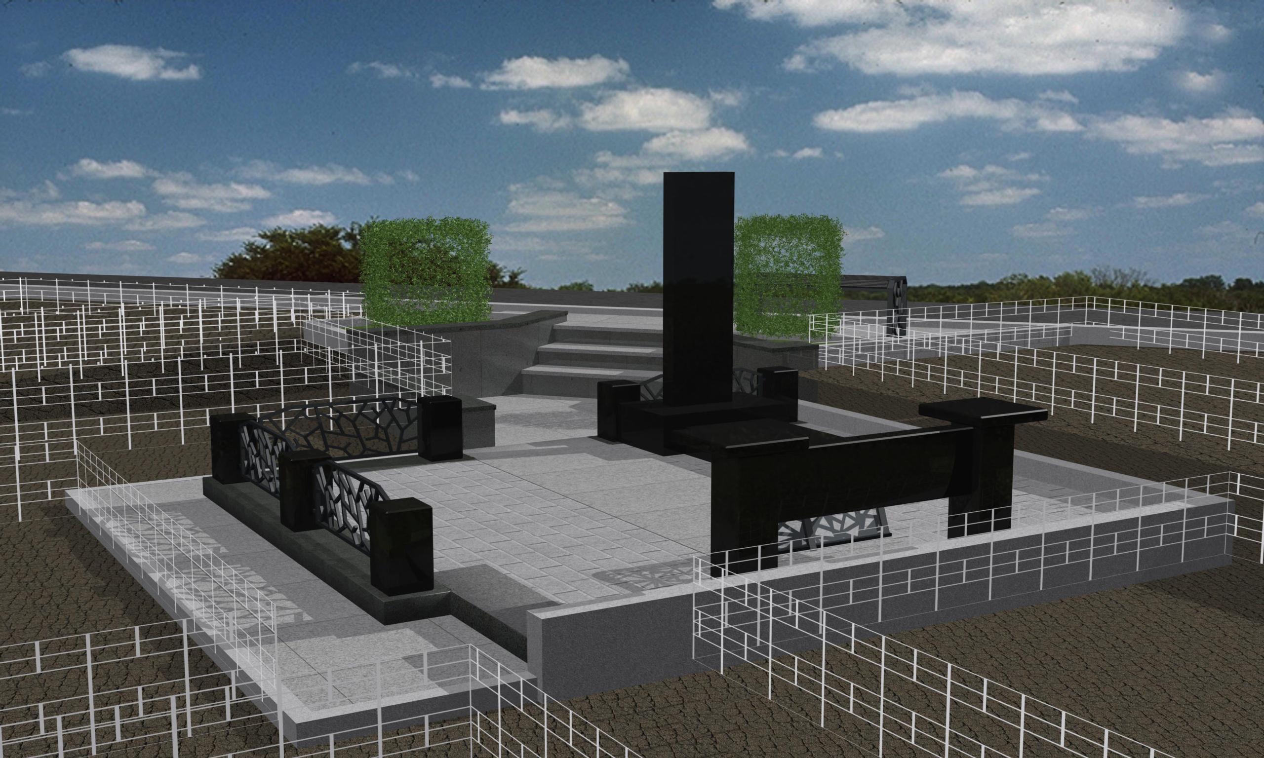 проект мемориала на Бадалыке