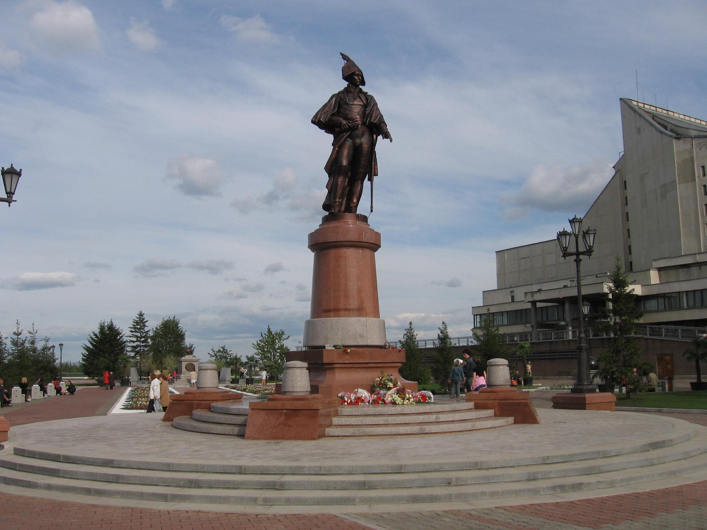 мемориальный комплекс командору Резанову
